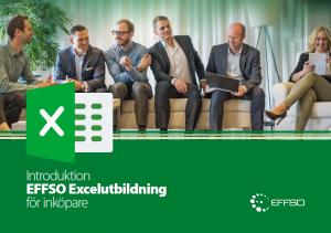 EFFSO Excel för inköpare